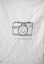 Load image into Gallery viewer, The 'I Love Photography' - Tea Towel