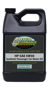 Passenger Car Motor Oil