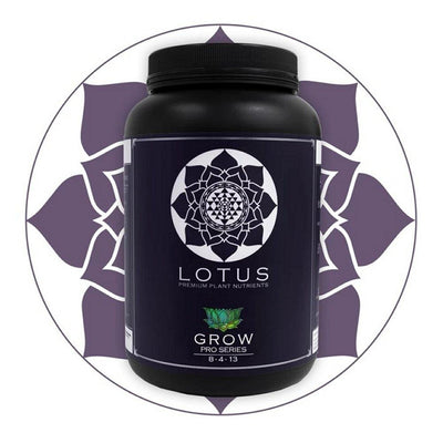 Lotus Nutrients Grow Pro Series - Everything But The Plant