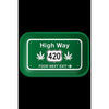 High Way 420 Rolling Tray - Everything But The Plant