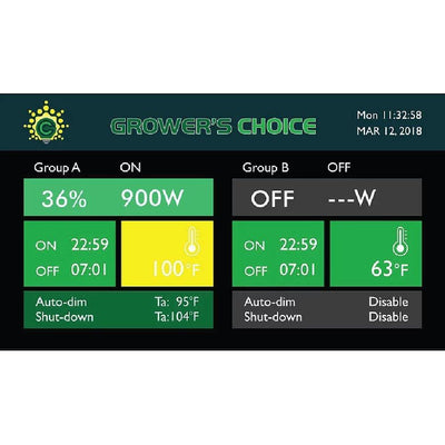 GROWER'S CHOICE Horticultural Lighting Accessory Master Controller - Everything But The Plant