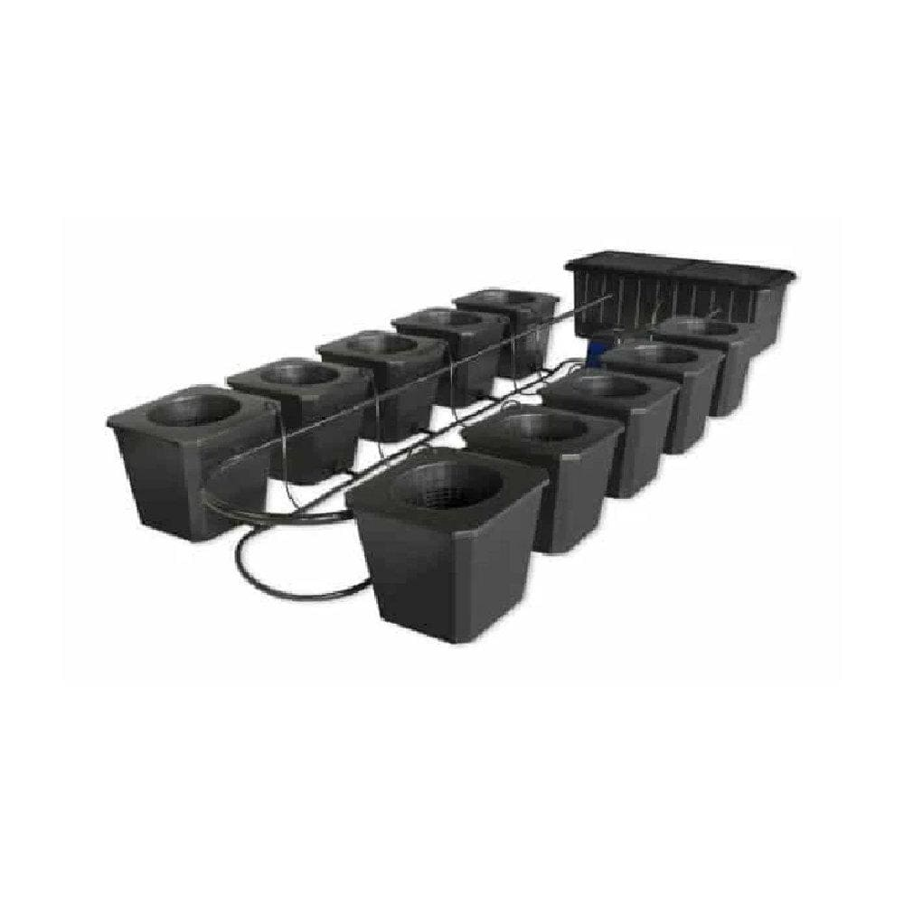 10 Site Bubble Flow Bucket Grow System - Everything But The Plant