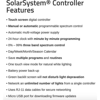 SolarSystem® Controller - Everything But The Plant