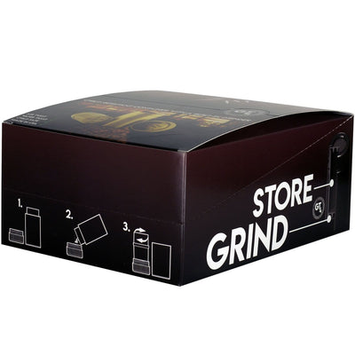 GT4 - Black Grinder w/Storage Container Display Box - Everything But The Plant