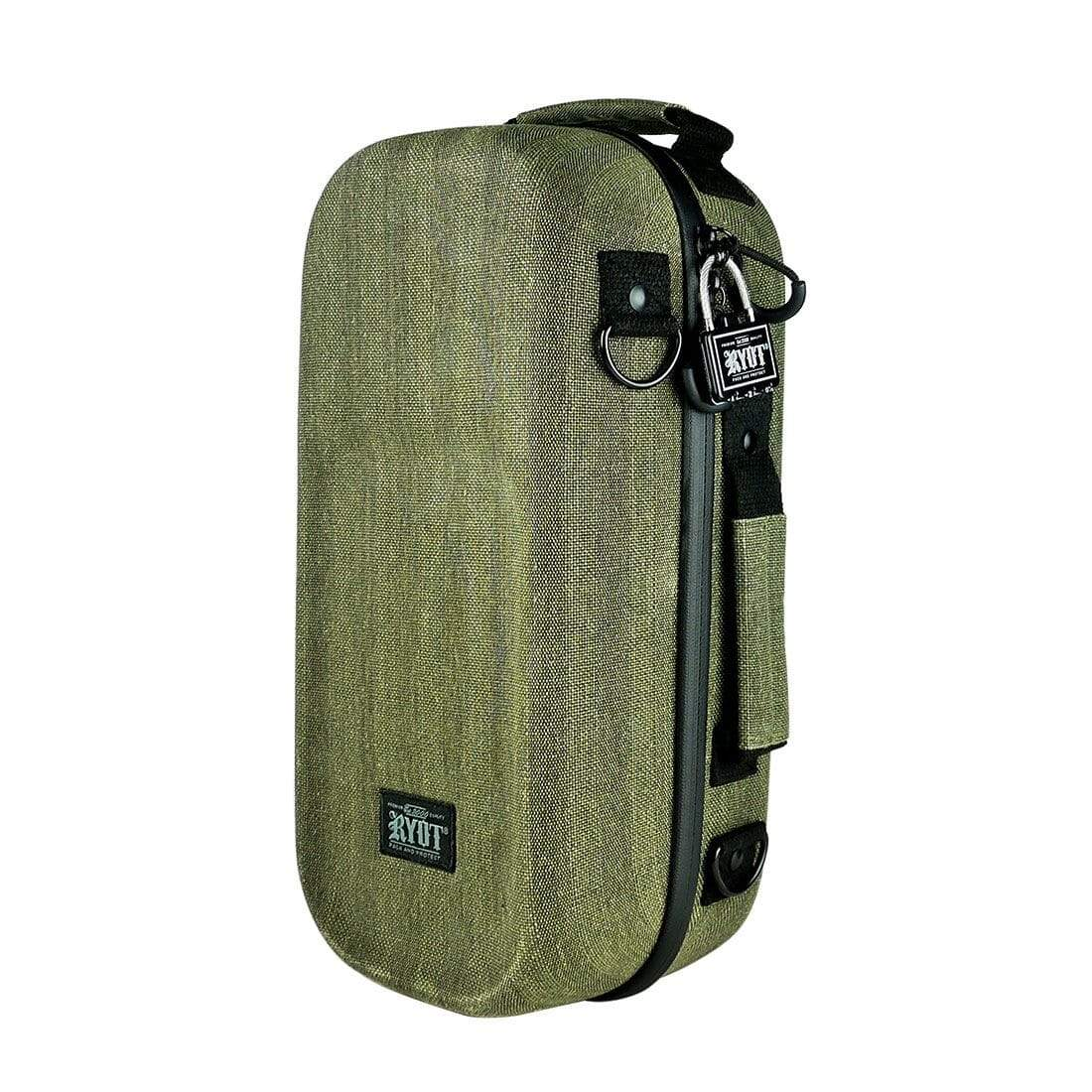 "Axe Pack with SmellSafe Technology in Olive with Lock (14"") - Everything But The Plant"