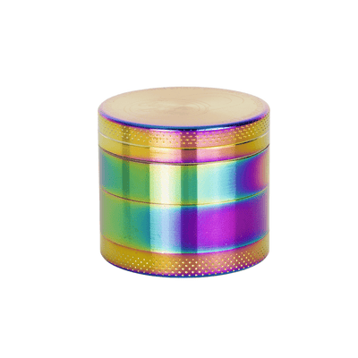 Caviar Locker – 40MM Metal Grinder – Rainbow - Everything But The Plant