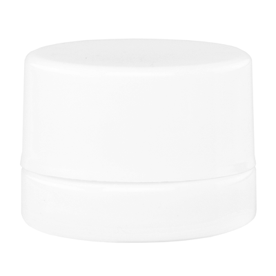 5ML Child Resistant White Opaque Glass – White Cap – (32 qty.) - Everything But The Plant