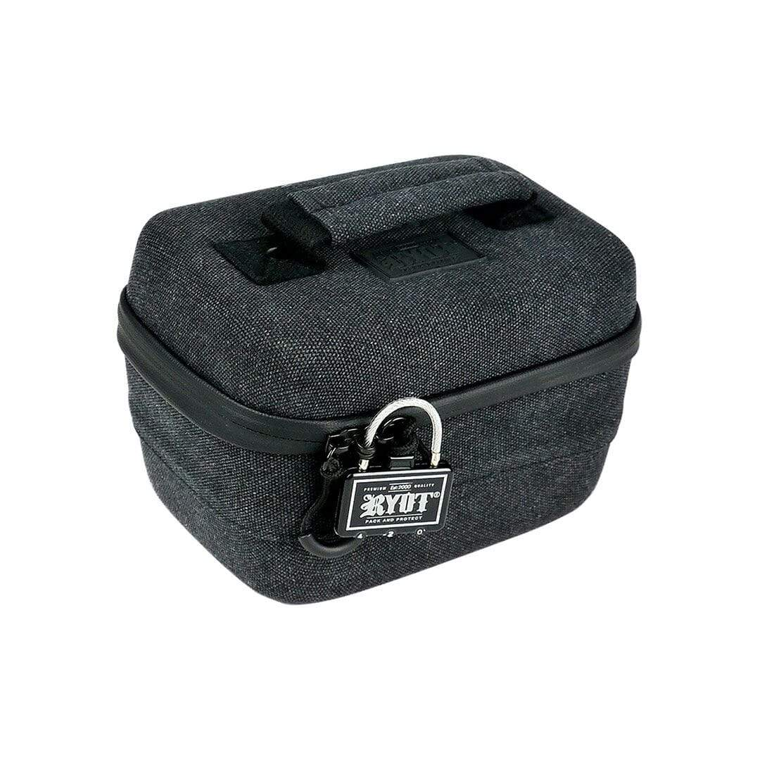 Safe Case with SmellSafe Technology in Black with Lock (Small 2.3L) - Everything But The Plant