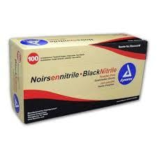 Dynarex Black Nitrile Exam Glove (non-latex) Powder Free - Everything But The Plant
