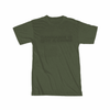 """Not a Crime"" T-Shirt in Military Green - Everything But The Plant"