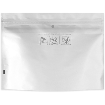 "8"" x 6"" Child Resistant Exit Bag - 1 Case (1000 bags) - Everything But The Plant"
