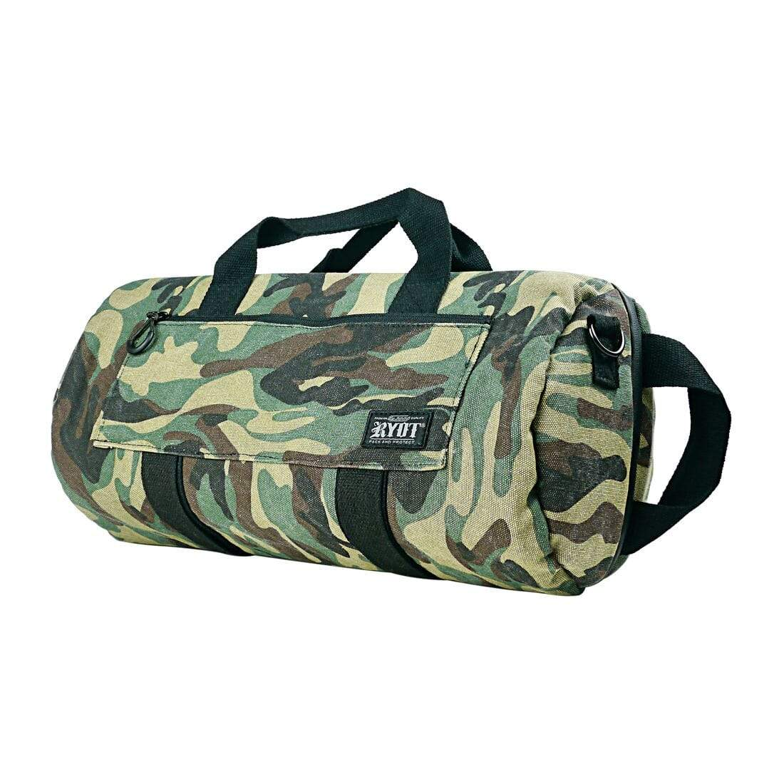 "Pro-Duffle Carbon Series with SmellSafe and Lockable Technology in Camo (16"") - Everything But The Plant"