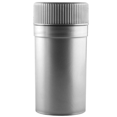 GT4 - Metallic Silver Grinder w/Storage Container Display Box - Everything But The Plant