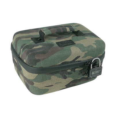 Safe Case with SmellSafe Technology in Camo with Lock (Large 4.0L) - Everything But The Plant