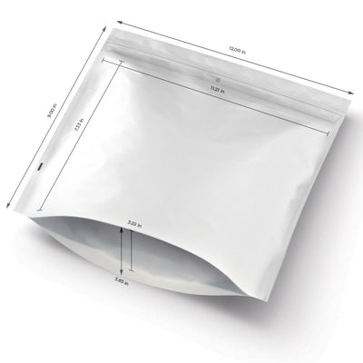 "12"" x 9"" Child Resistant Exit Bags - 1 case (500 Bags) - Everything But The Plant"