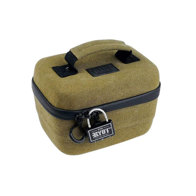Safe Case with SmellSafe Technology in Olive with Lock (Small 2.3L) - Everything But The Plant