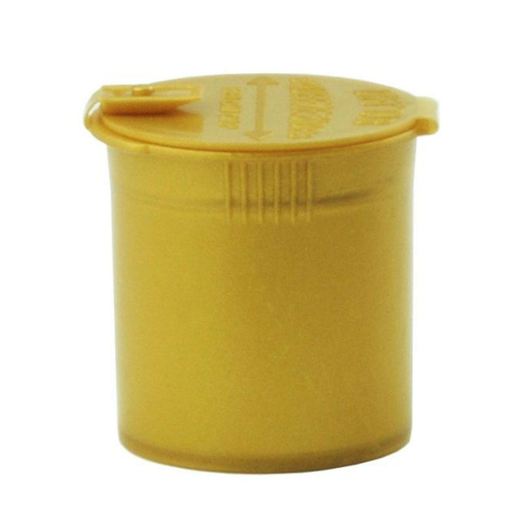 6 Dram Opaque Gold Child Resistant Pop Top Bottles (300 qty.) - Everything But The Plant