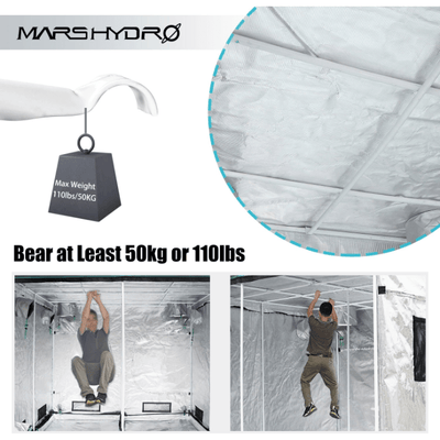 Indoor Grow Tent 96''X48''X80''- (240x120x200cm) - Everything But The Plant