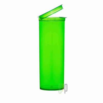 60 Dram Translucent Child Resistant Pop-Top Bottles (75/case) - Everything But The Plant