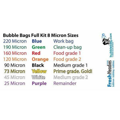 Original 5 Gallon 4 Bag Kit by BubbleBags - Everything But The Plant