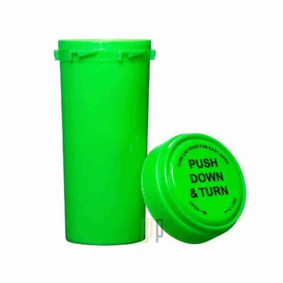 30 Dram Push & Turn Reverse Cap Bottles (190/case) - Everything But The Plant