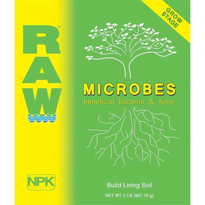 RAW MICROBES Grow Stage: build living soil - Everything But The Plant
