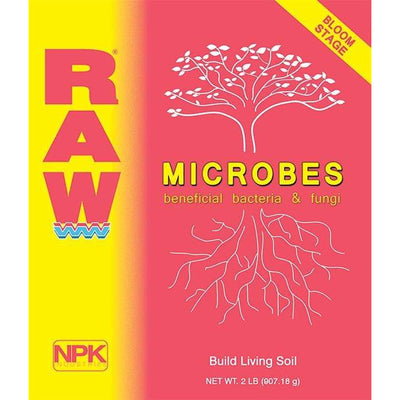RAW MICROBES Bloom Stage: build living soil - Everything But The Plant