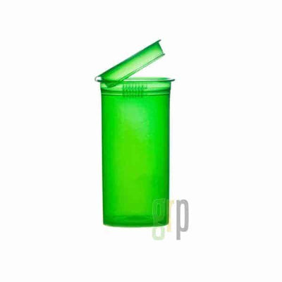 13 Dram Translucent Child Resistant Pop-Top Bottles (315/case) - Everything But The Plant
