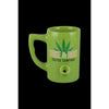 "Ceramic ""Wake & Bake"" Coffee Mug Pipe - Everything But The Plant"