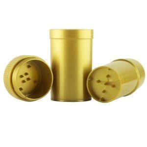 GT4 - Gold Grinder w/Storage Container & Mylar Bag - Everything But The Plant