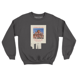 'LOOKING FOR LOVE' SWEATSHIRT