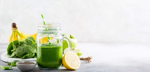 Green Smoothie mit Insekten Protein