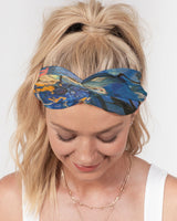 """Imagination Runs and..."" Twist Knot Headband Set - David Austin Gallery"