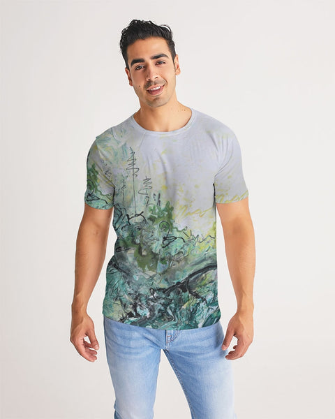 Woods and Mountains Dreamed Of Men's Tee - David Austin Gallery