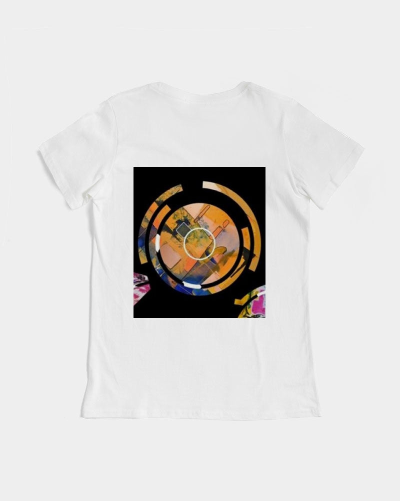Time Cycle Series #1 Women's Graphic Tee - David Austin Gallery