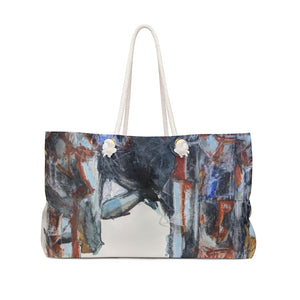 """City Structures In Stone 1"" Weekender Bag - David Austin Gallery"
