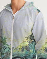 """Woods and Mountains Dreamed Of"" Men's Windbreaker - David Austin Gallery"