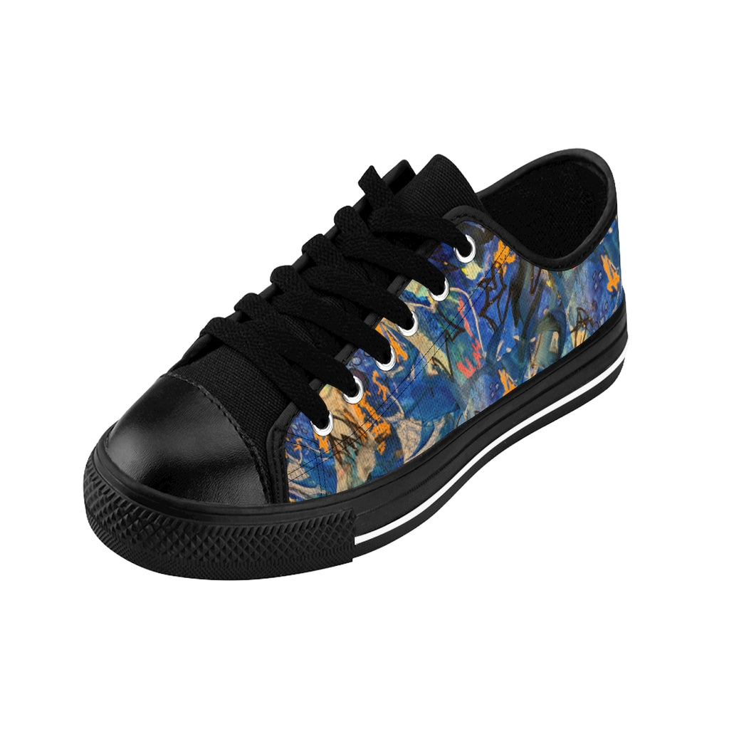 """Imagination Runs"" Women's Sneakers - David Austin Gallery"