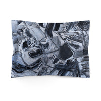 Microfiber Pillow Sham Featuring Original David K. Austin Art
