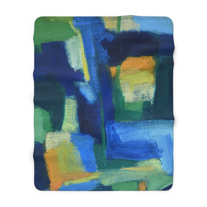 Open image in slideshow, Hale Super Soft, Heavy Weight, Large Sherpa Fleece Blanket - David Austin Gallery