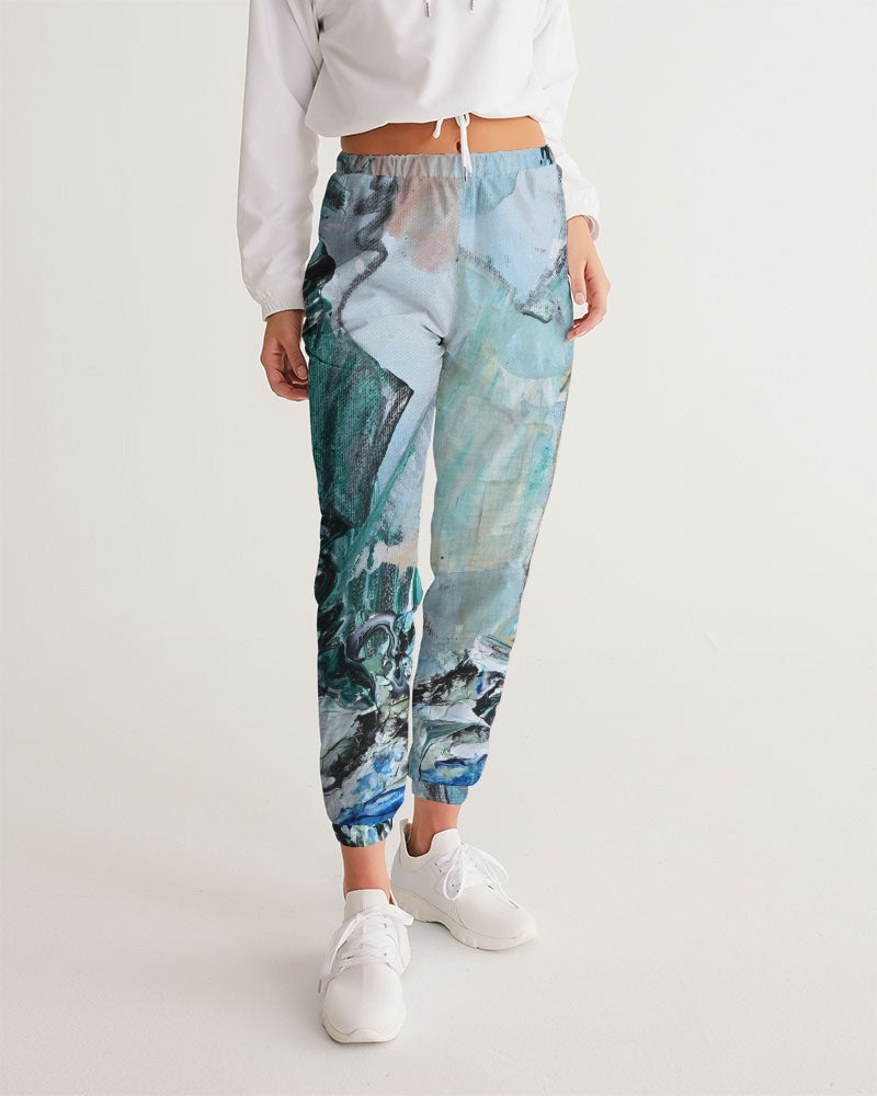 """Teal Mountain's"" Women's Track Pants - David Austin Gallery"