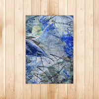 """Riparian Zone"" Rectangle Area Rug - David Austin Gallery"