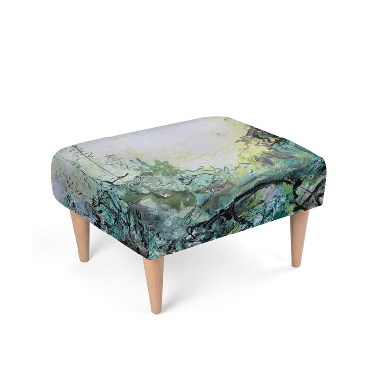 Woods and Mountain Dreams Footstool - David Austin Gallery