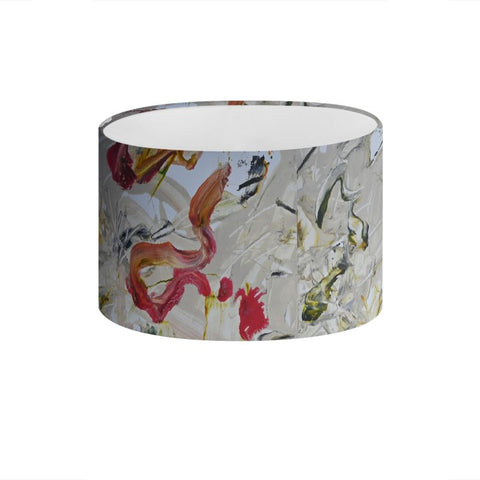 """Tying Flies 2"" Drum Lamp Shade - David Austin Gallery"