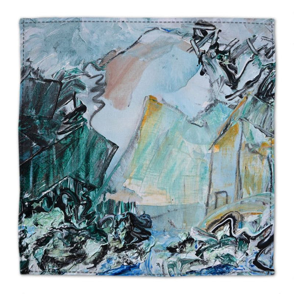 """BC Dreaming Still"" Cotton Napkin - David Austin Gallery"