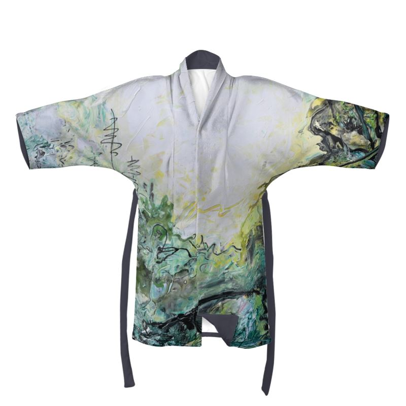"""Woods and Mountains Dreamed Of"" Full Length Kimono - David Austin Gallery"