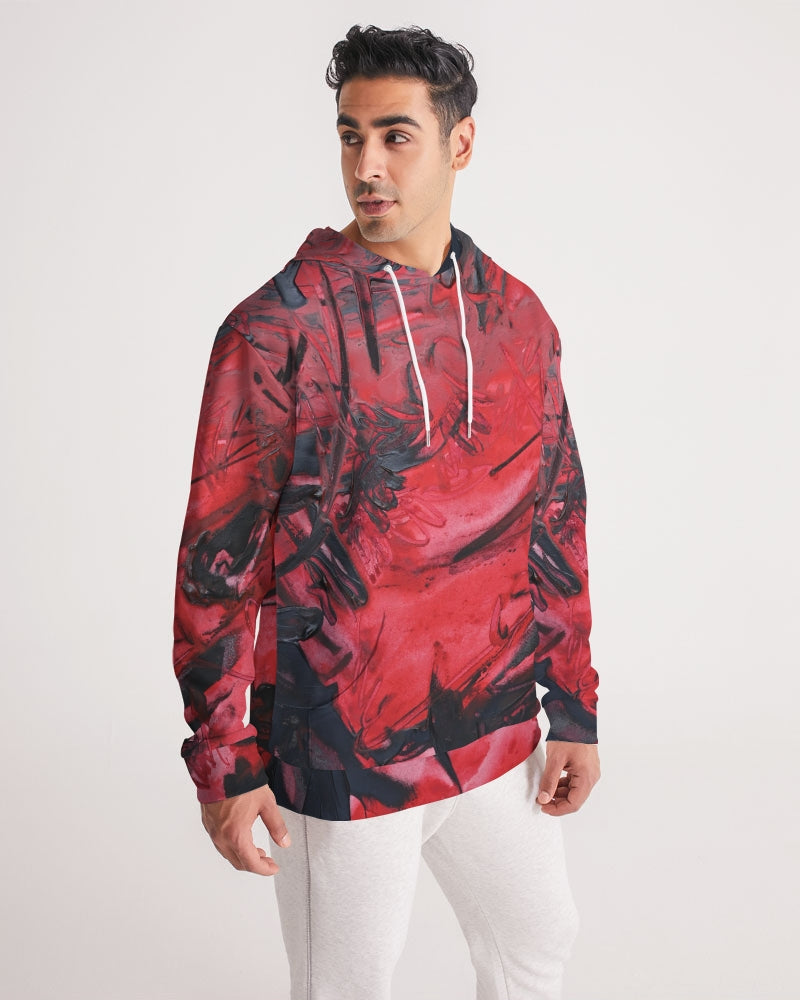 Cooling Lava Men's Hoodie - David Austin Gallery