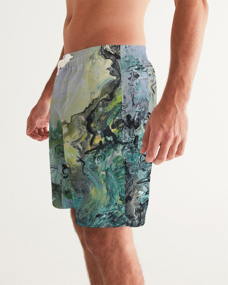 """Woods and Mountains Dreamed Of"" Men's Swim Trunk - David Austin Gallery"