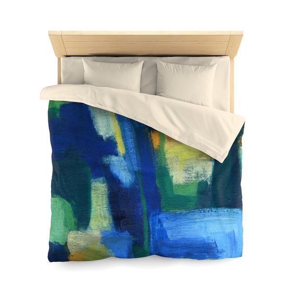 Microfiber Duvet Cover Featuring Original Art