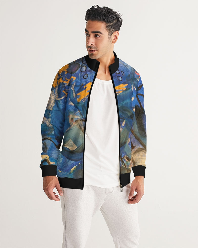 """Imagination Runs"" Men's Track Jacket - David Austin Gallery"